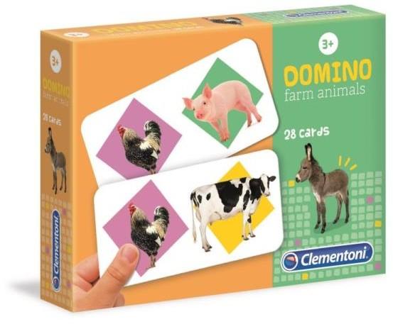 Clementoni Domino Zwierzęta na farmie