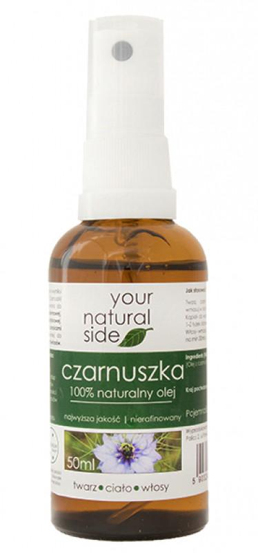 Your Natural Side 100% naturalny olej z czarnuszki - 50 ml YOUNZ5ML