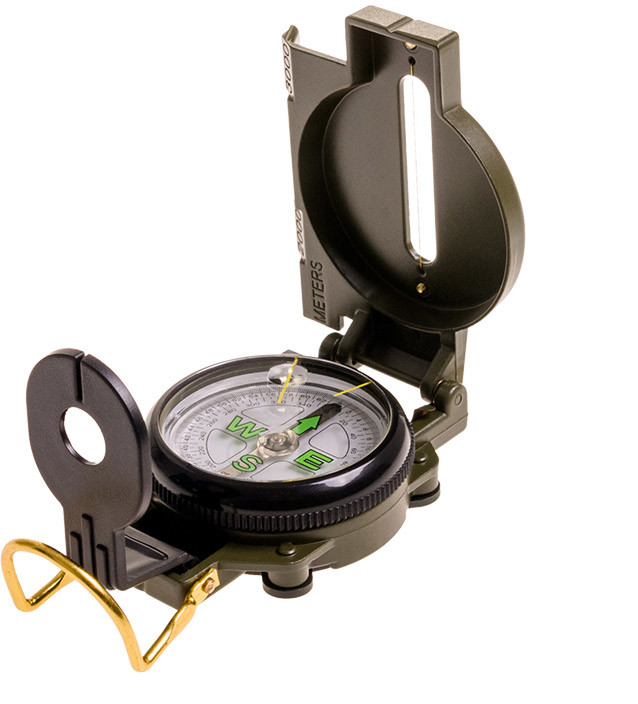 Military Badger Outdoor Kompas Badger Outdoor Lensatic