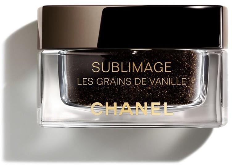 Chanel SUBLIMAGE LES GRAINS DE VANILLE Oczyszczający i rozświetlający peeling do twarzy z ziarenkami wanilii 50g