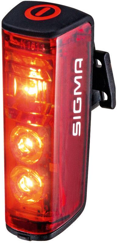 Sigma sport SPORT Blaze Światełko tylne z funkcją światła hamowania 2020 Oświetlenie rowerowe - zestawy 4016224151004