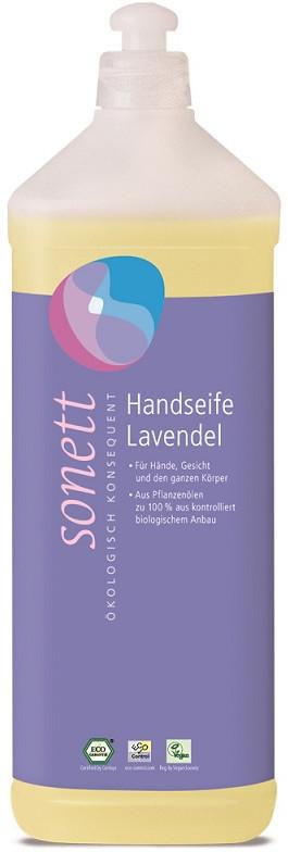 Sonett Ekologiczne mydło w płynie Lawenda, sn-D130