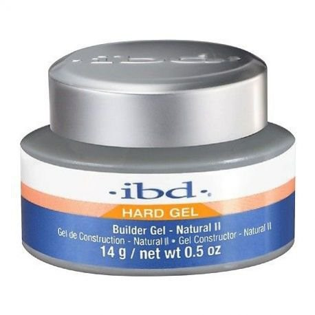 IBD Hard Led/Uv Builder Gel Natural Ii 14g