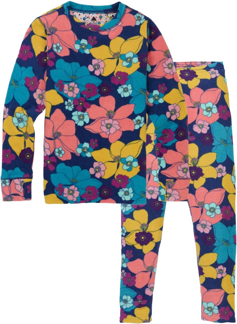BURTON bielizna termiczna ęca BURTON YOUTH FLEECE SET Flowers