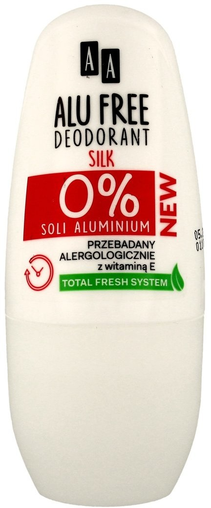 Oceanic Alu Free, dezodorant roll-on Silk, 50 ml