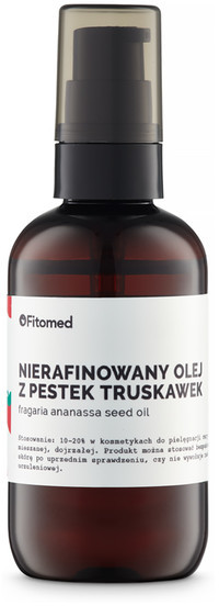 Fitomed Nierafinowany Olej Z Pestek Truskawek 100ml