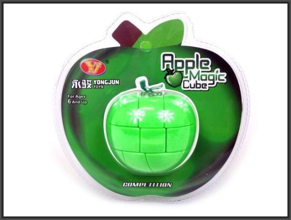HIPO Kostka magiczna Jabłko 7x8cm. HIPO