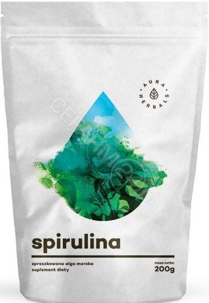 Aura Herbals Spirulina w proszku 200 g