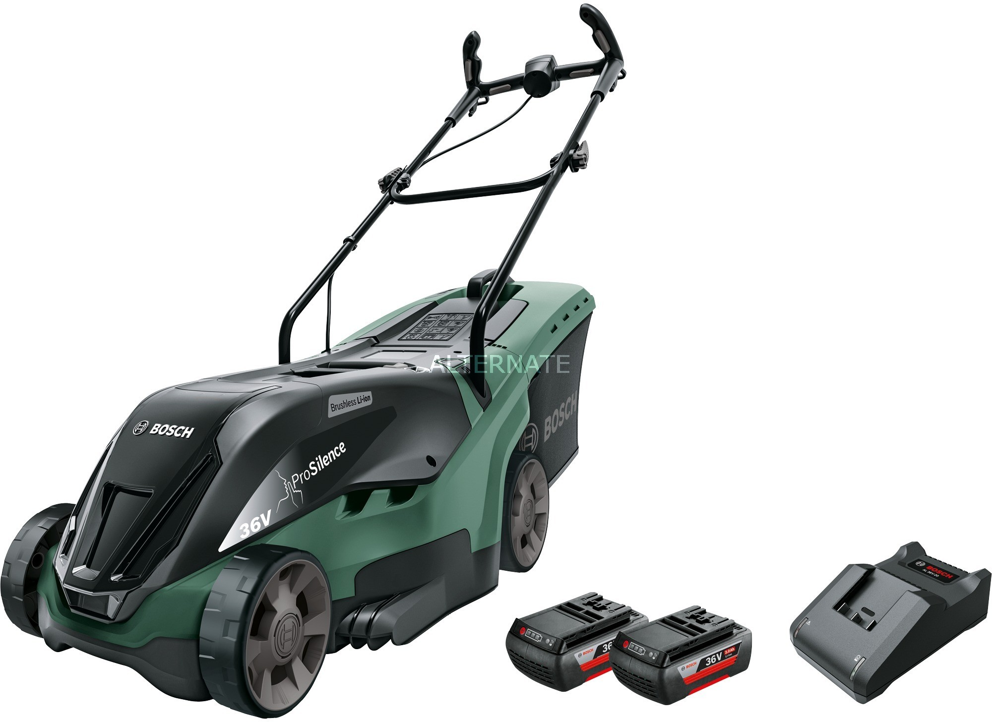 Bosch UniversalRotak 36-560 Czarny, Zielony Bateria, kosiarka do trawy