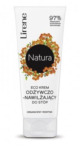 Lirene Lirene Natura Eco krem odżywczo-nawilżający do stóp Organiczny Rokitnik 75ml LIR NAT-08