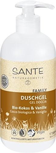 Sante Naturkosmetik Sante naturalny kosmetyki żel pod prysznic kokos and wanilia organicznej (500G) 42313