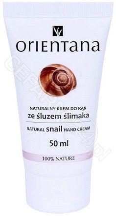 ORIENTANA Orientana naturalny krem do rąk ze śluzem ślimaka 50 ml