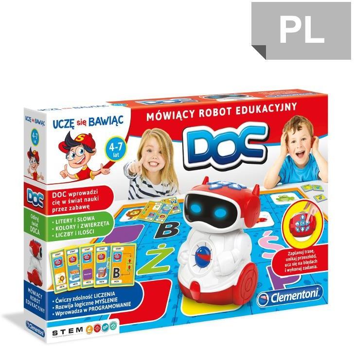 Clementoni Doc Mówiący Robot Edukacyjny 60972