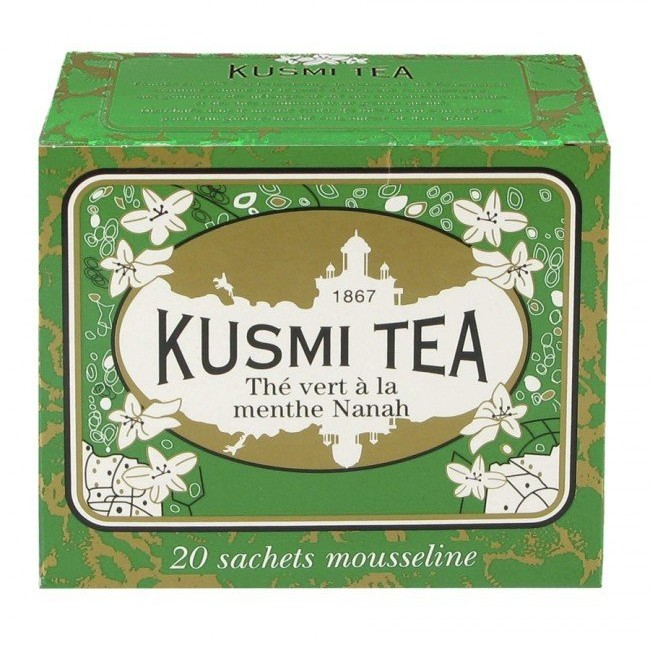Kusmi Herbata zielona z miętą Spearmint 20 torebek VMEN20S