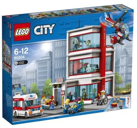 LEGO SZPITAL CITY 60204