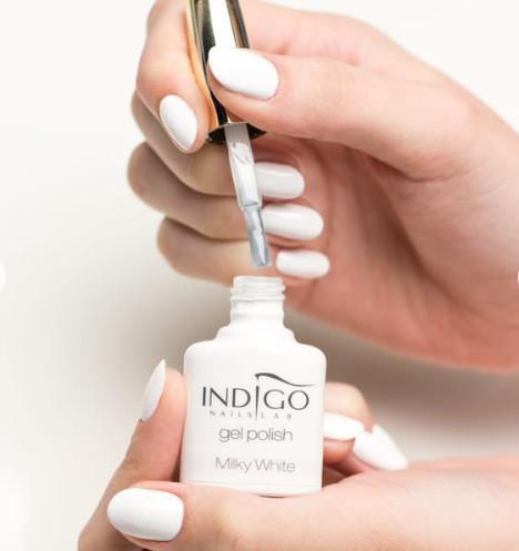 Indigo Indigo Milky White Gel Polish 7ml INDI1132