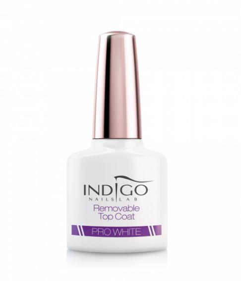 Indigo Indigo Removable Top Coat Pro White 7ml INDI239