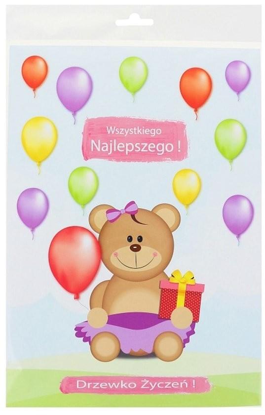 Godan Drzewko życzeń Moje 1 urodziny - 1 szt. GD-DZM1UR