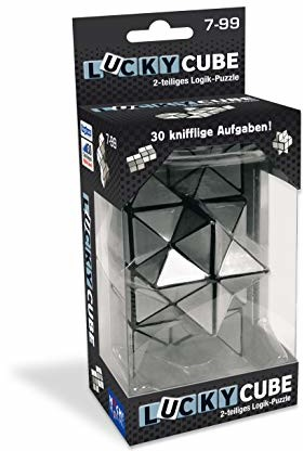 HUCH! Lucky Cube puzzle logiczne, kolorowe