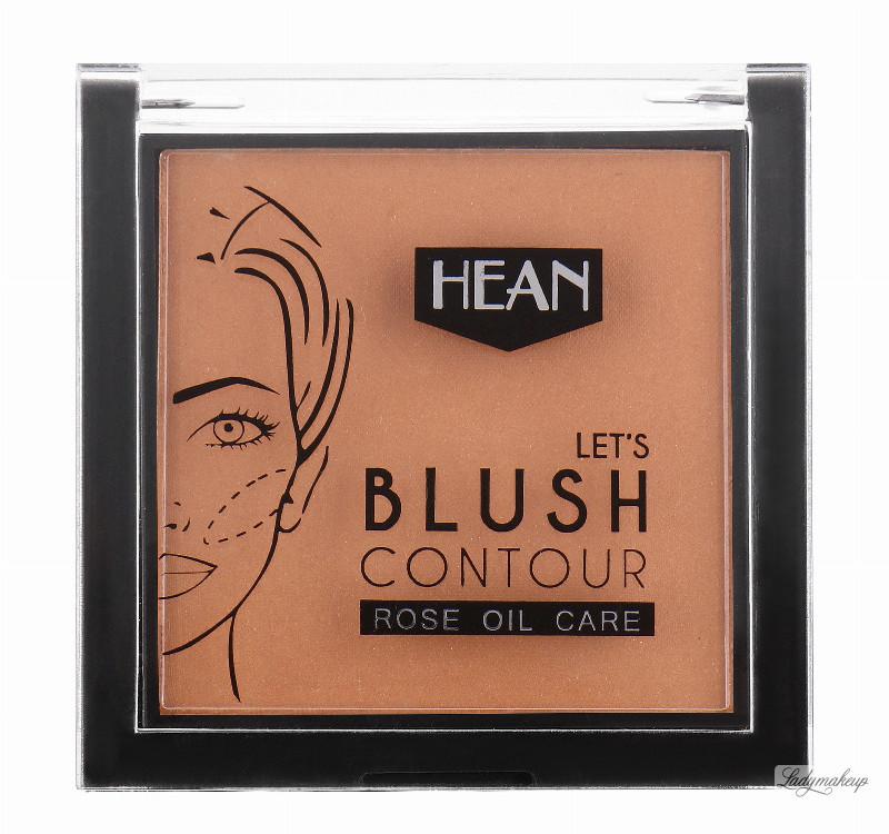 HEAN LET'S BLUSH CONTOUR - ROSE OIL CARE - Róż do konturowania twarzy z olejkiem z dzikiej róży - 403 - ROSE ANAISE HEARKZZRO-EJRO-01
