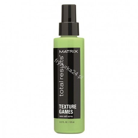 Matrix Total Results Texture Games, spray do fal z solą morską, 125ml M202