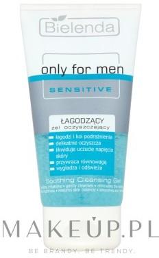 Bielenda Łagodzący żel oczyszczający dla mężczyzn - Only For Men Sensitive Soothing Cleansing Gel Łagodzący żel oczyszczający dla mężczyzn - Only For Men Sensitive Soothing Cleansing Gel