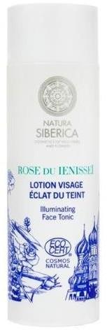 Natura Siberica Rose Du Ienissei Illuminating Face Tonic rozświetlający tonik do twarzy Hydrolat z róż Rose De Grasse & Jałowiec 200ml 58163-uniw