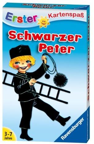 Ravensburger 20431Schwarzer Peter garncarzy kinderkarten