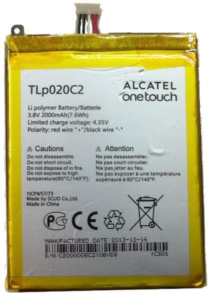 Alcatel Nowa Bateria TLp020C2 6040 Idol X 2 S 6034