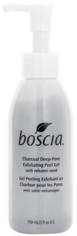 BOSCIA Charcoal Deep Pore Exfoliating Peel Gel - Oczyszczający żel peelingujący