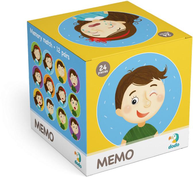 TM Toys DODO Minigra memory Emocje