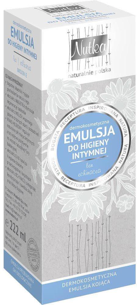 Nutka Nutka Emulsja do higieny intymnej 222ml len/echinacea