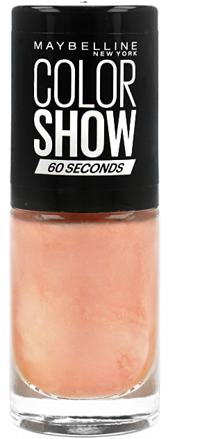 Maybelline Color Show Seria 60 Seconds Lakier Do Paznokci 110R Coral Reefs 30097216