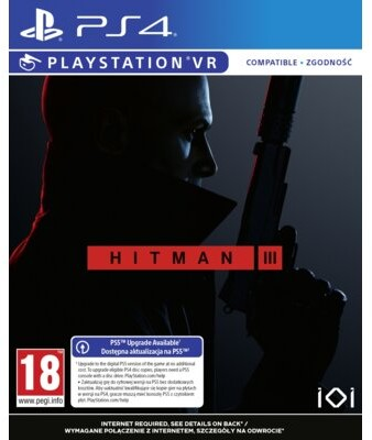 Hitman 3 (GRA PS4 VR)