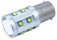 Żarówka samochodowa LED P21W BA15s 12/24V 14W 14xSMD Canbus biała 0,5x Y3-3684