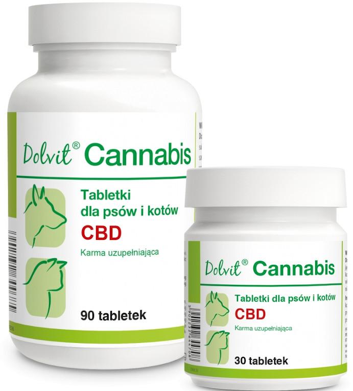 Dolfos Dolvit Cannabis suplement diety dla psa i kota 90 tab.