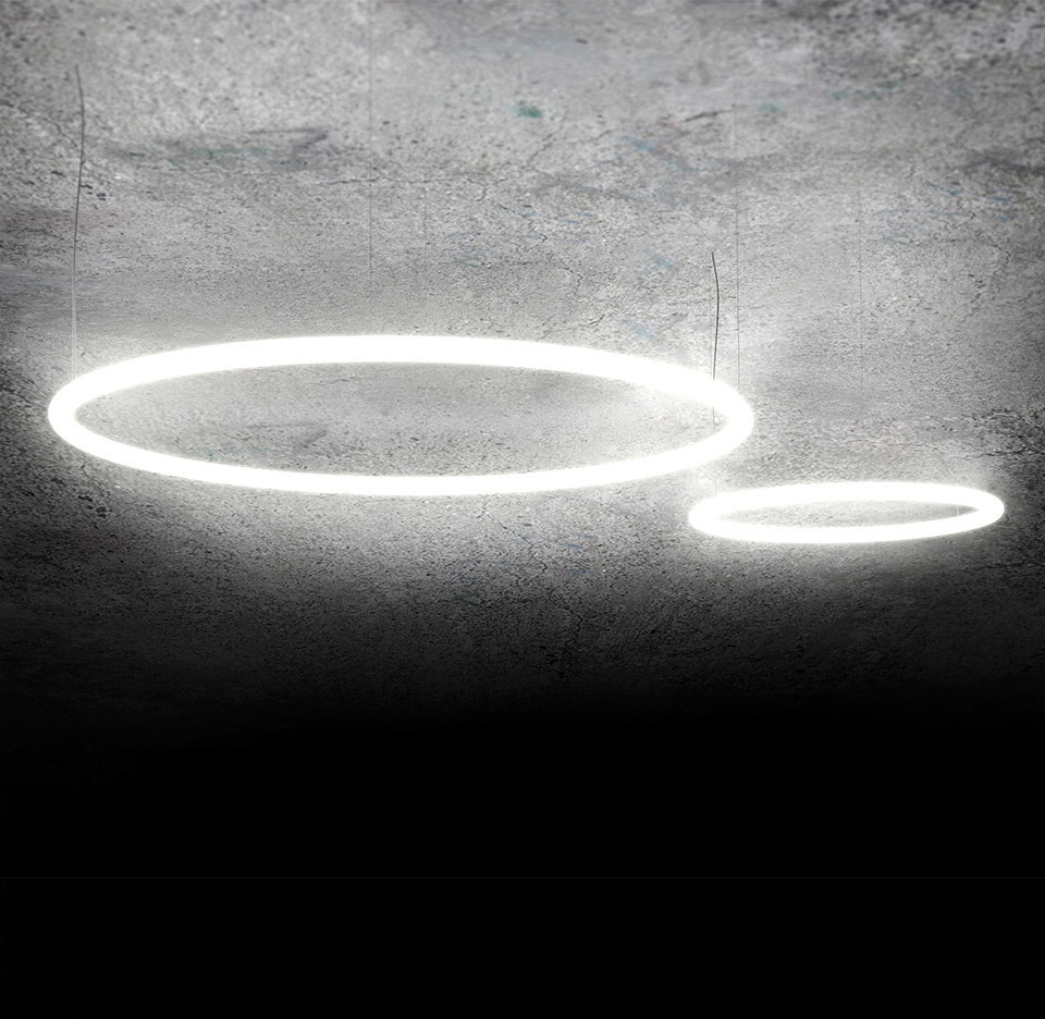 Artemide Alphabet Of Light Circular 155 1207000A 1207000A