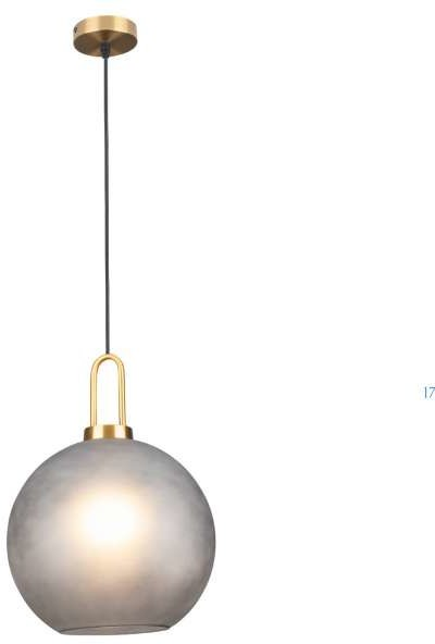 Maxlight LAMPA wisząca PLUTON P0415 szklana OPRAWA kula ZWIS ball P0415