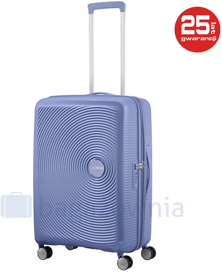 a93019ccfe858 Samsonite AT by Średnia walizka AT SOUNDBOX 88473 Niebieska - niebieski