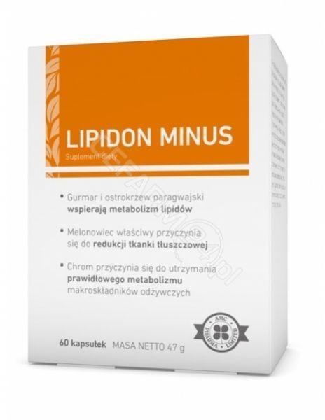 AMC Pharma Lipidon Minus 60 kapsułek 3086641