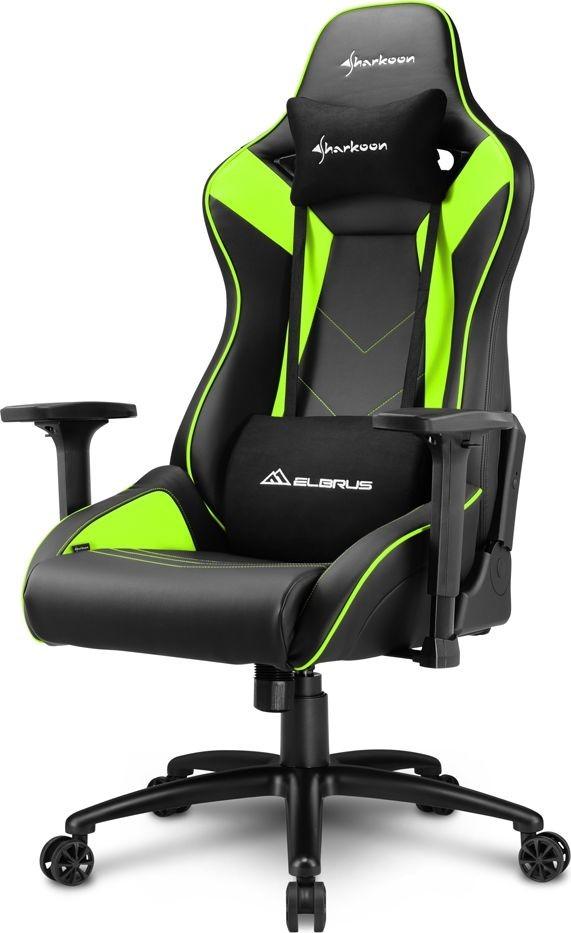 Sharkoon Sharkoon Elbrus 3 Gaming Chair gaming chair black green