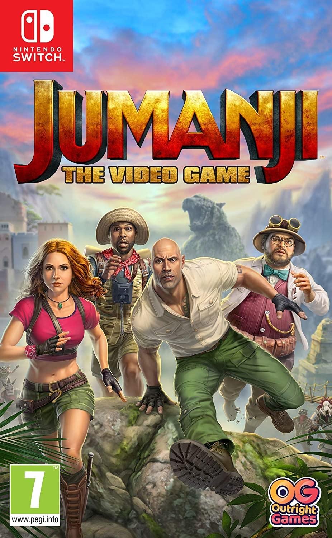 Jumanji: The Video Game NSWITCH