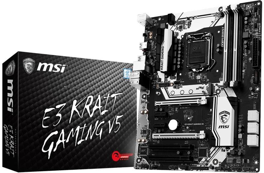 Opinie o MSI E3 Krait Gaming V5