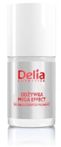 Delia Cosmetics Cosmetics, odżywka do paznokci Mega Effect, 11 ml