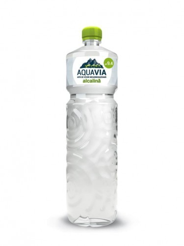 AQUAVIA Woda źródlana alkaliczna niegazowana 500ml - Aquavia