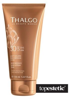 Thalgo Age Defence Sun Lotion Body SPF 30 Przeciwzmarszczkowe mleczko do opalania ciała 150 ml