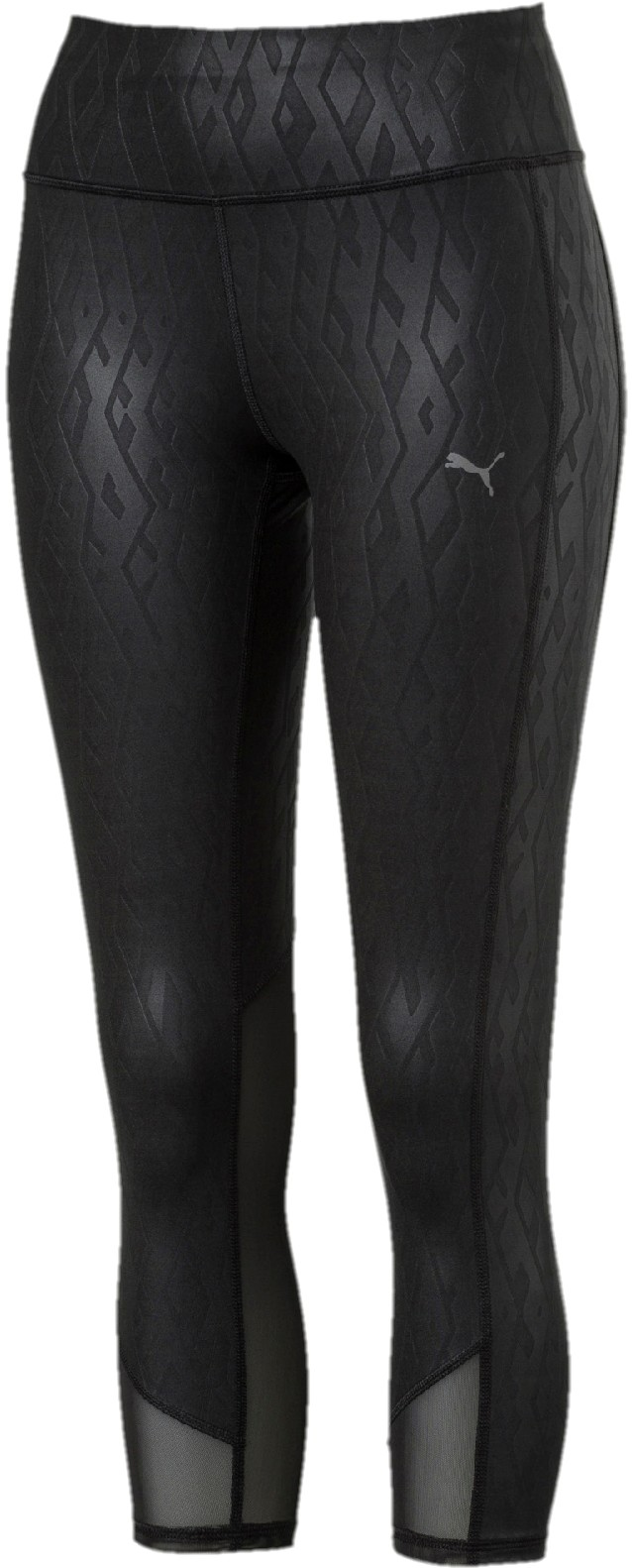 Puma Legginsy sportowe damskie Always On Graphic 3/4 Tight Black E XS
