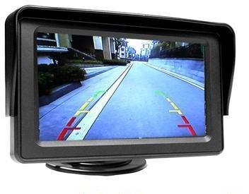 S.T.I Ltd NOWOŚĆ 2016r.! Wysokiej Jakości Samochodowy Mały Monitor LCD 4,3