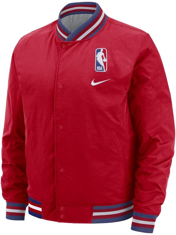 Nike Męska kurtka NBA Czerwony