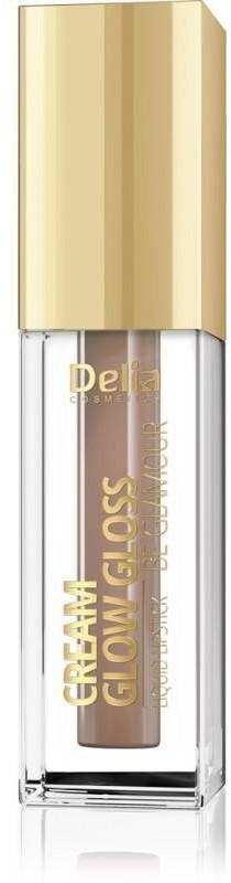 Delia Cosmetics Cream Glow Gloss Pomadka w płynie nr 201 Baby Doll 5ml